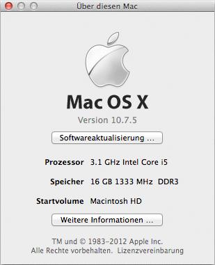 Über diesen Mac Lion