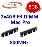 2x 4GB = 8GB KIT DDR2 800 Mhz PC2-6400 FB-DIMM