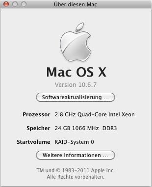 Über diesen Mac