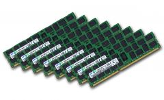 8x 16GB = 128GB KIT DDR3 RAM 1333 Mhz PC3-10600R ECC REG DIMM
