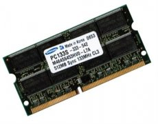 512MB Modul SDRAM PC-133 133 MHz SO-DIMM