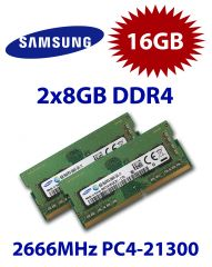 2x 8GB = 16GB KIT DDR4 RAM PC4-21300 2666MHz SO-DIMM