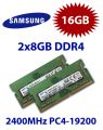 2x 8GB = 16GB KIT DDR4 RAM PC4-19200 2400MHz SO-DIMM